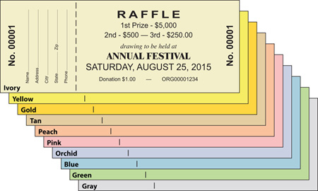 Sample request for Sample of raffle tickets templates